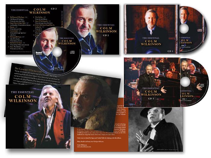 Colm Wilkinson CD boxset
