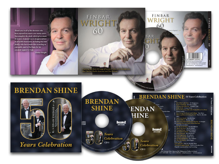 Finbar Wright CD & Brendan Shine CD