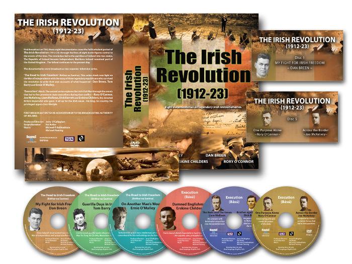 The Irish Revolution DVD boxset