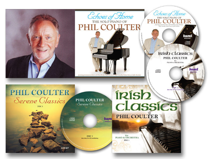 Phil Coulter CDs