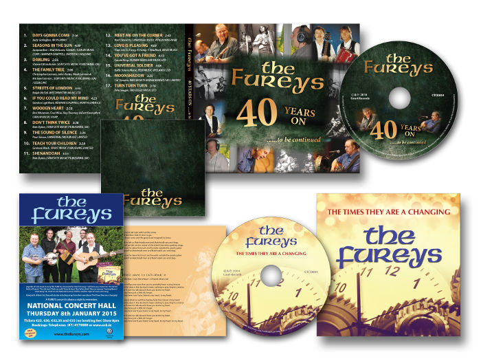 The Fureys CD digipaks