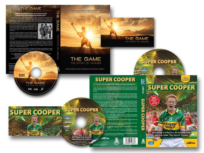 The Game  Super Cooper DVDs