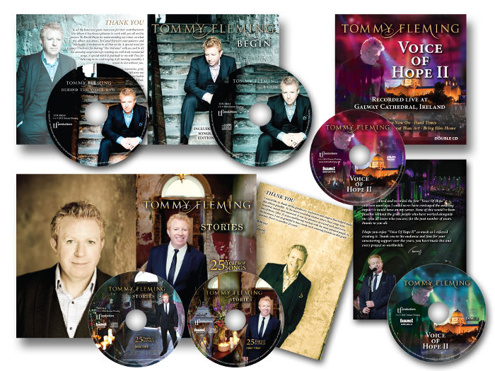 Tommy Fleming CDs / DVDs digipack