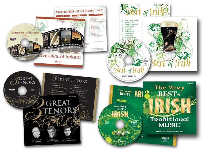 Memories of Ireland CDs Boxsets