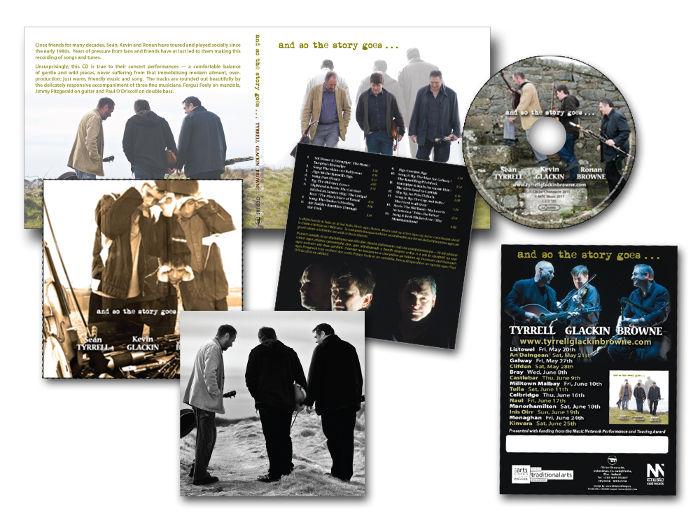 Tyrrell Glackin Brown CD