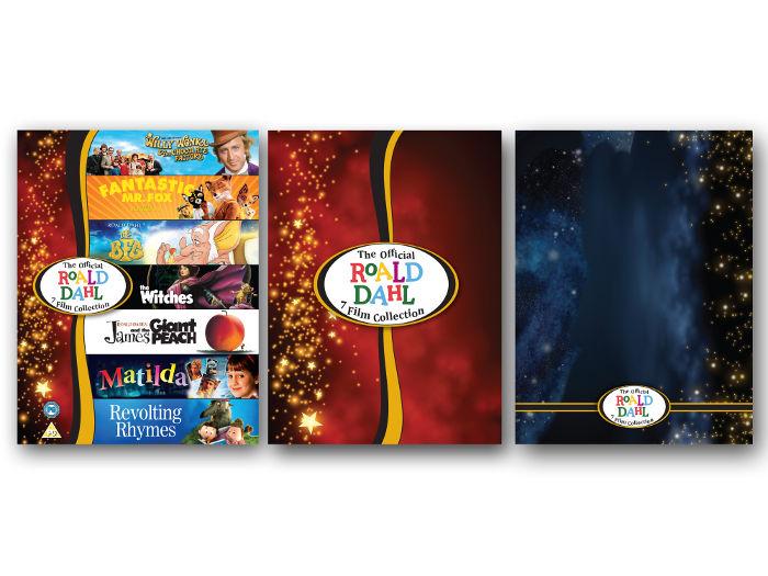 Roald Dahl 7 film DVD set