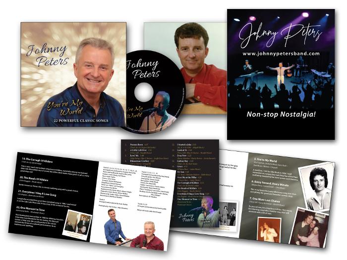 Johnny Peters CD digipak