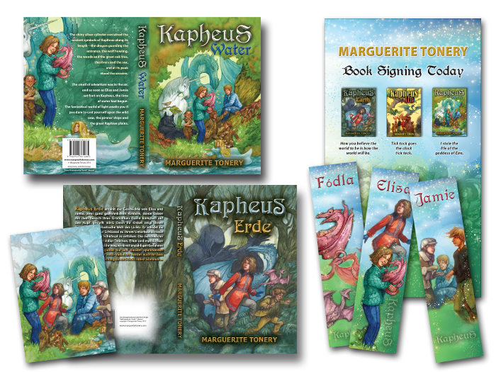 Kapheus book jackets