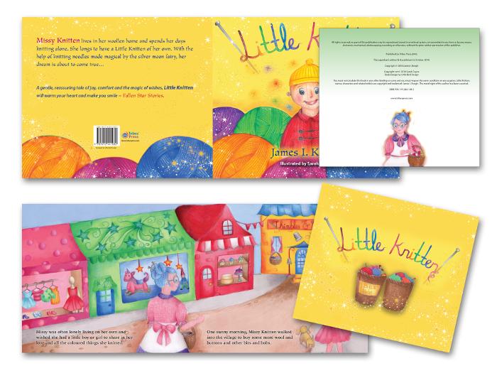 Little Knitten book design
