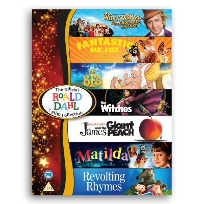 Roald Dahl 7 Film Collection