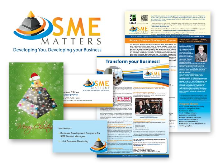 logo design & design for print for SME Matters