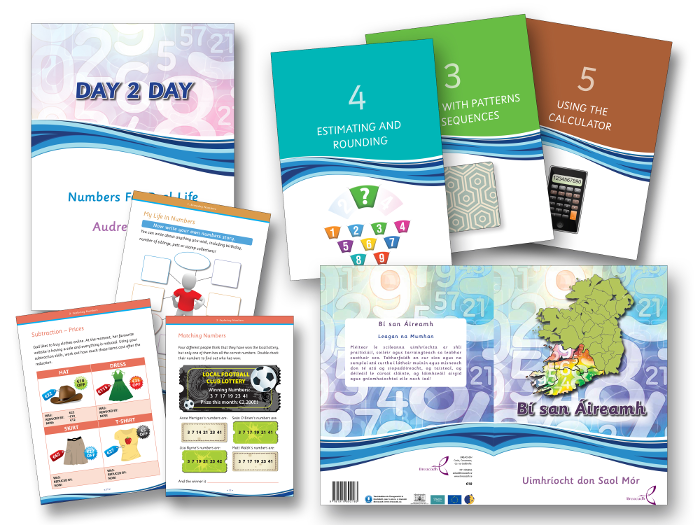 Everyday Numbers book design