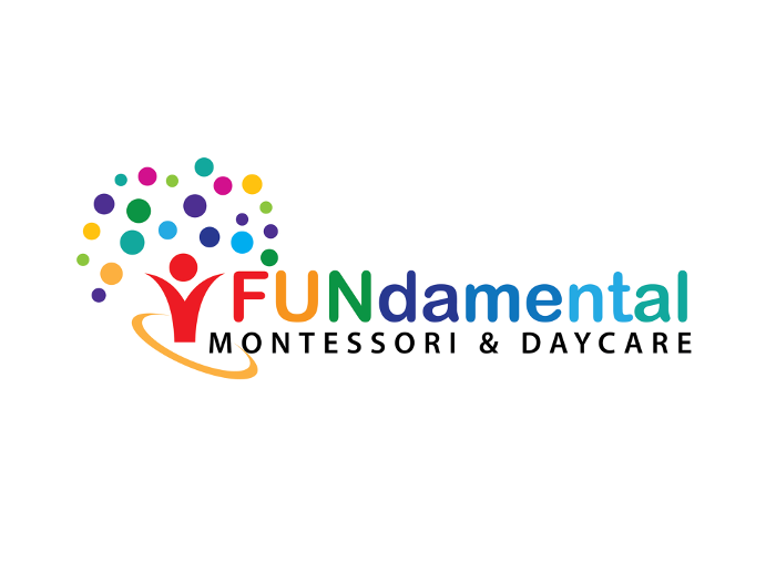 Daycare logo design for Fundamental Montessori & Daycare