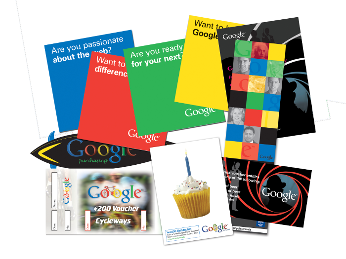 Google design for marketing
