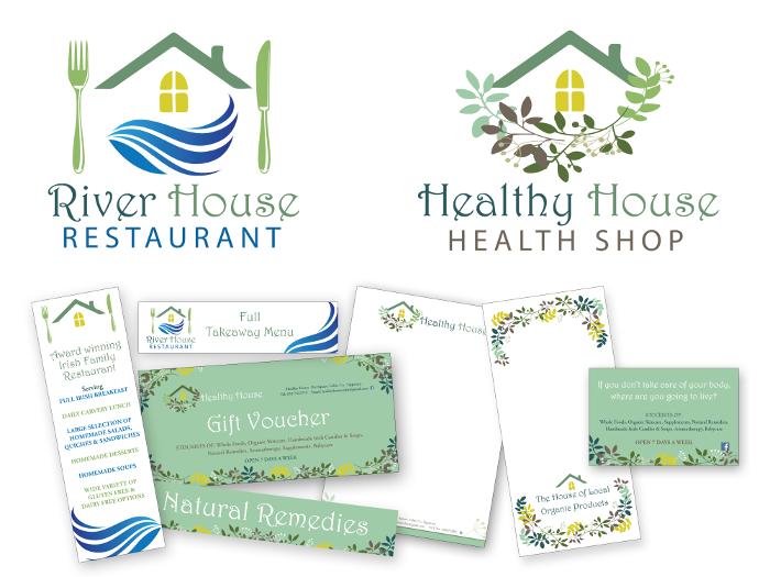 Healthy House design & branding