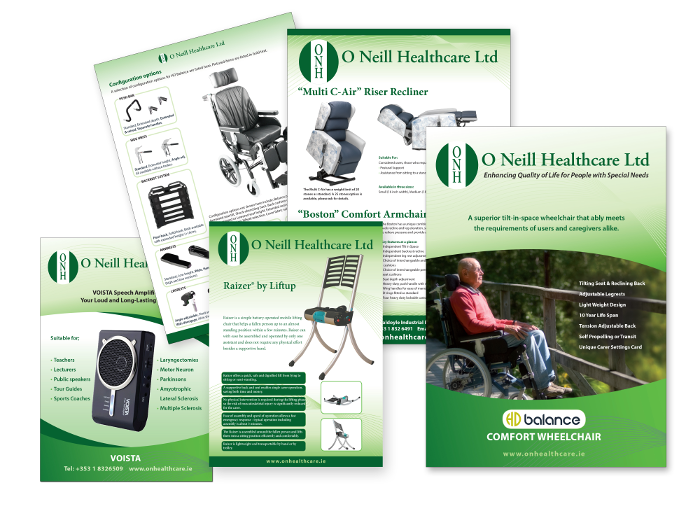 O Neill Healthcare design for print