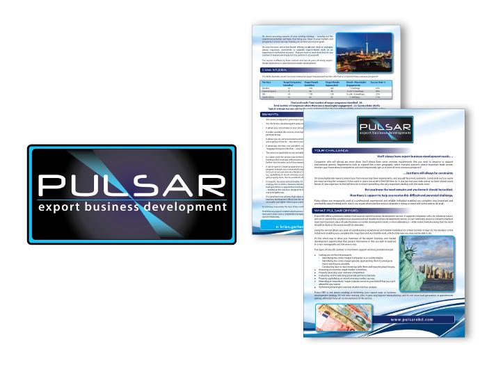Pulsar logo design