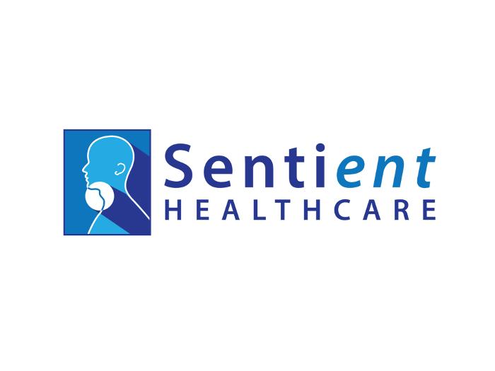 sentient healthcare logo design