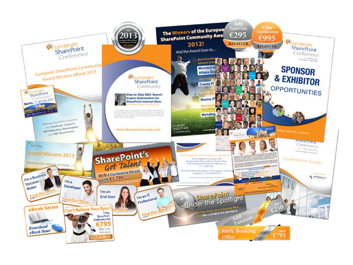 European Sharepoint Conference literature design