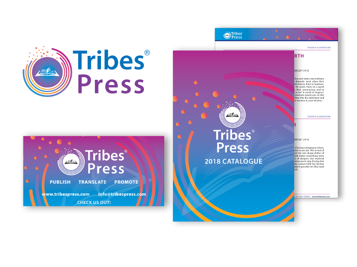 logo design & design for print for Tribes Press