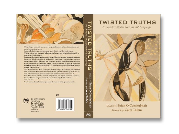 Twisted Truths jacket design