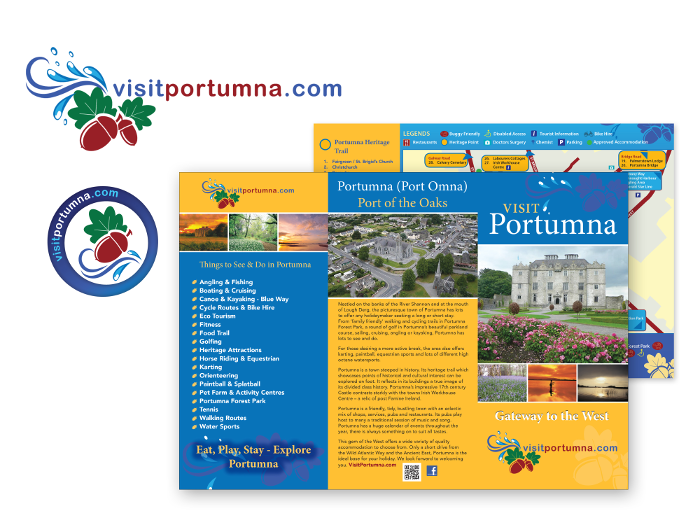 Design & branding for Visit Portumna